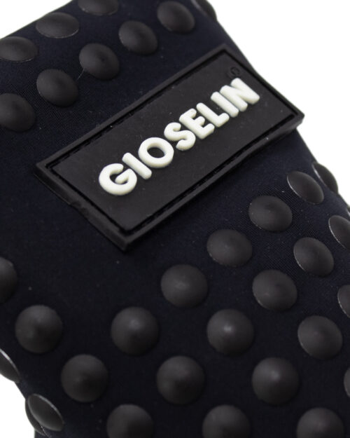 Sneakers Gioselin LIGHT STUDS BLACK CON BORCHIE Nero - Foto 3