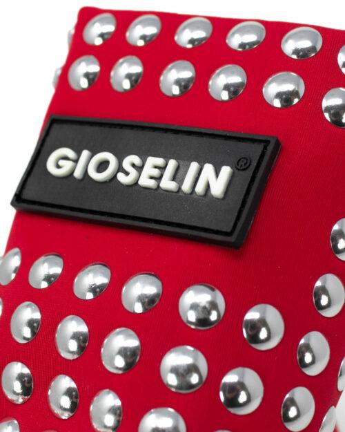 Sneakers Gioselin BORCHIE LIGHT STUDS COLOR CON BORCHIE Rosso - Foto 3