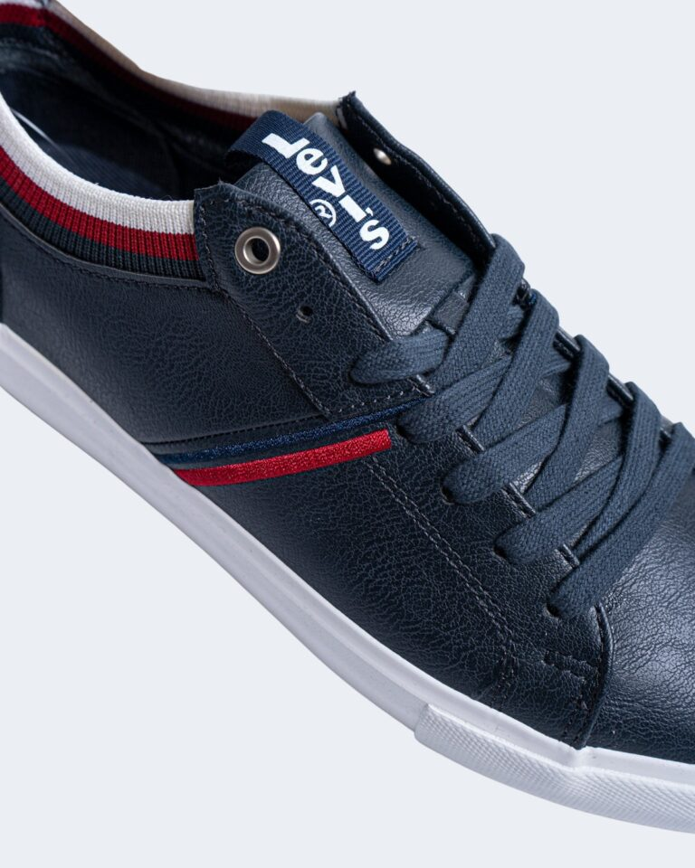 Sneakers Levi's® WOODWARD COLLEGE Blu - Foto 3