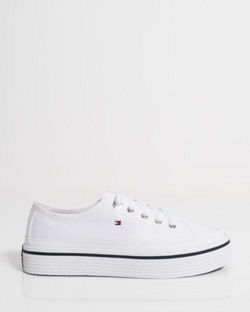 Sneakers Tommy Hilfiger Corporate Platform Bianco - Foto 1