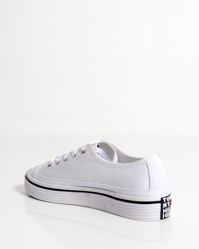 Sneakers Tommy Hilfiger Corporate Platform Bianco - Foto 2
