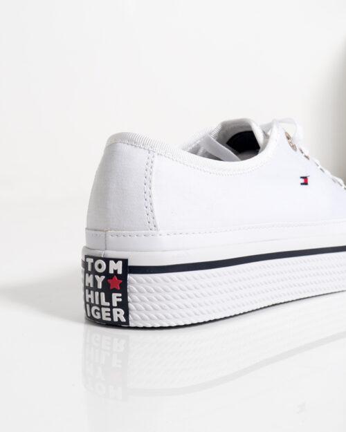 Sneakers Tommy Hilfiger Corporate Platform Bianco - Foto 3