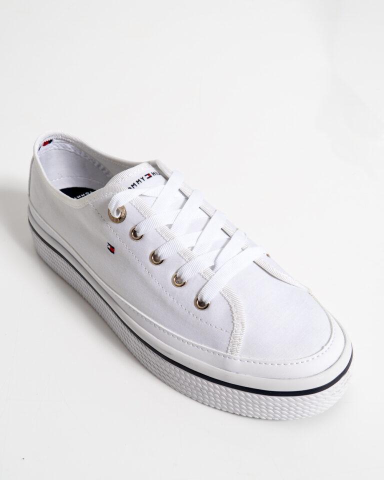 Sneakers Tommy Hilfiger Corporate Platform Bianco - Foto 4