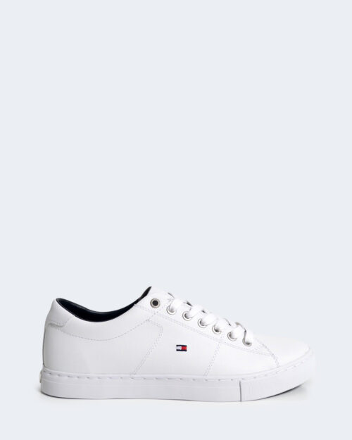 Sneakers Tommy Hilfiger Essential Leather Bianco - Foto 1
