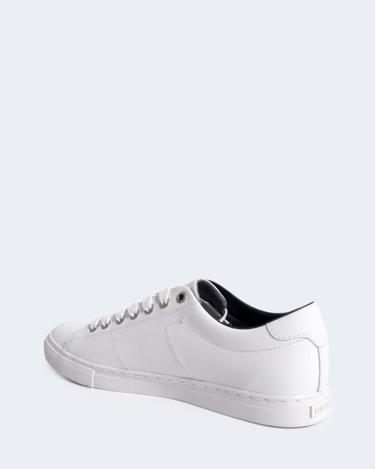 Sneakers Tommy Hilfiger Essential Leather Bianco - Foto 2