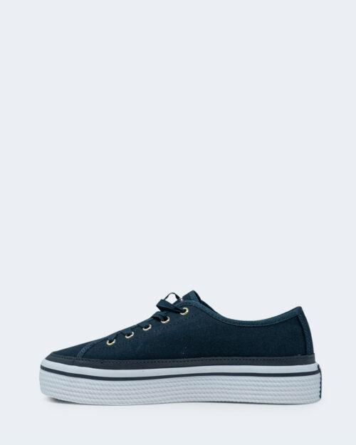 Sneakers Tommy Hilfiger Corporate Platform Blu - Foto 2