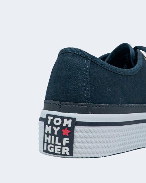 Sneakers Tommy Hilfiger Corporate Platform Blu - Foto 3
