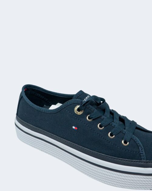 Sneakers Tommy Hilfiger Corporate Platform Blu - Foto 4