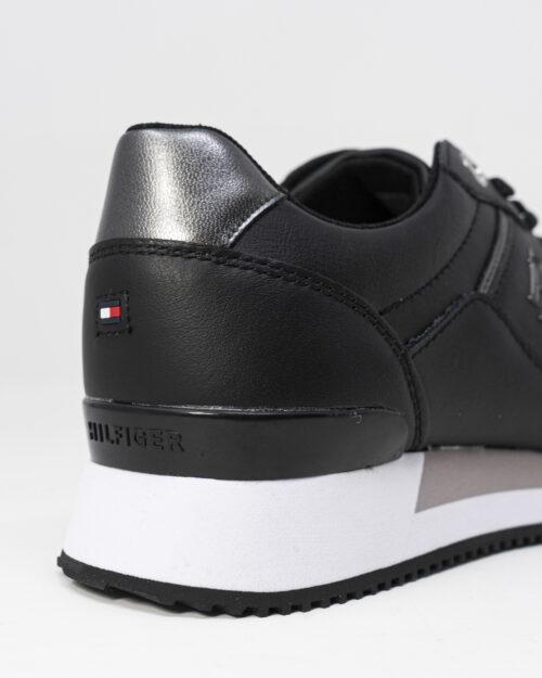 Sneakers Tommy Hilfiger Jeans INTERLOCK Nero - Foto 3