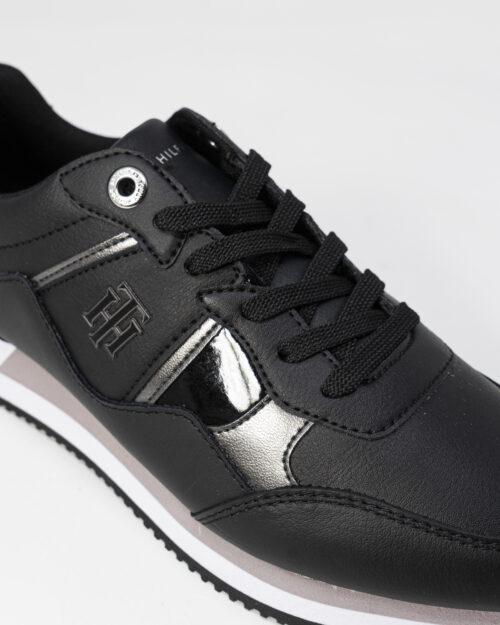 Sneakers Tommy Hilfiger Jeans INTERLOCK Nero - Foto 4