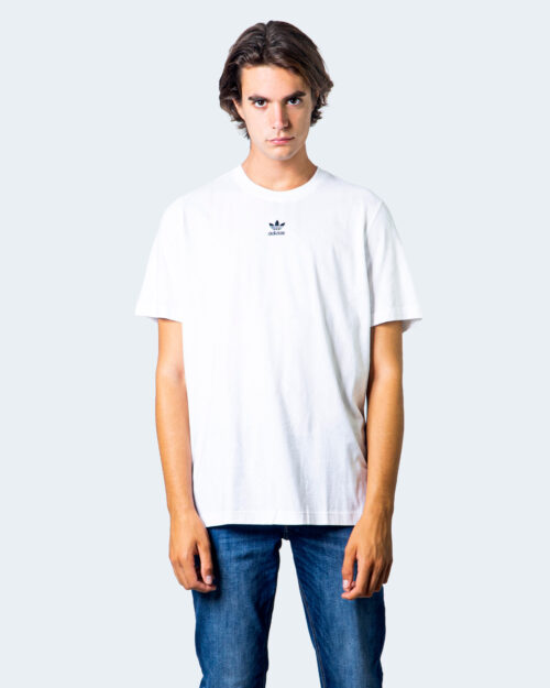 T-shirt Adidas LOGO CENTRALE BLACK Bianco - Foto 1