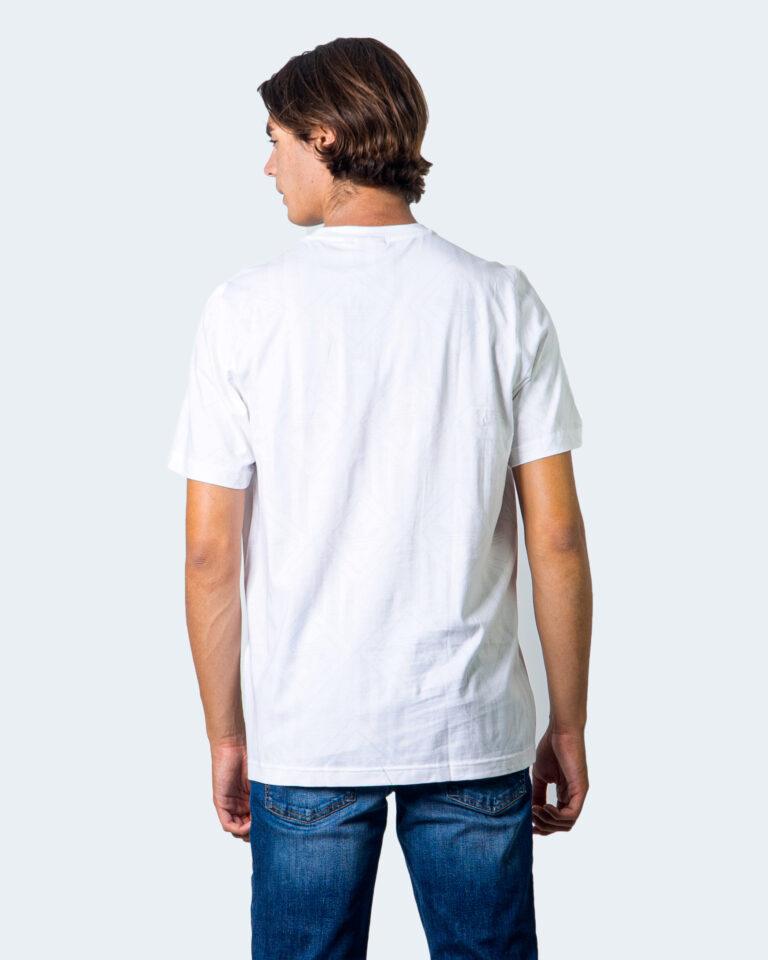 T-shirt Adidas LOGO CENTRALE BLACK Bianco - Foto 2