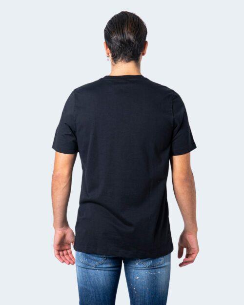 T-shirt Adidas Camo Tongue Nero - Foto 2