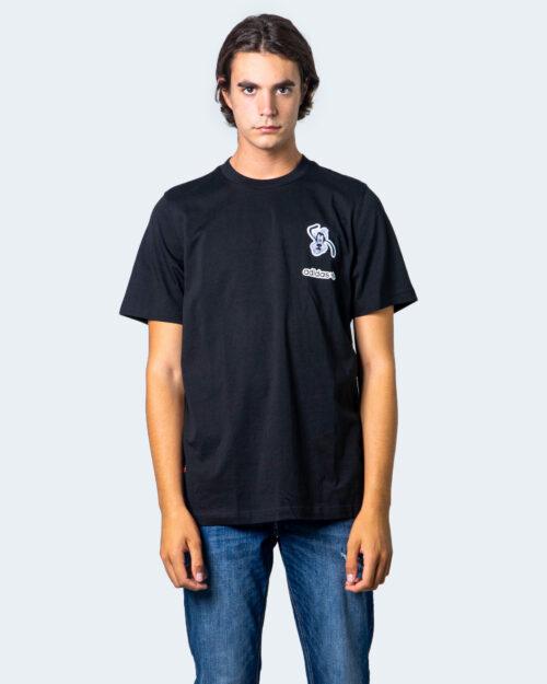 T-shirt Adidas LOGO PIPPO Nero - Foto 1