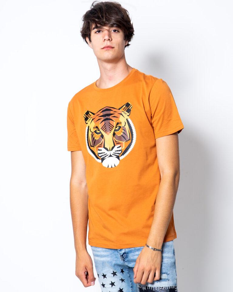 T-shirt Antony Morato REGULAR CON STAMPA TIGRE Arancione - Foto 1