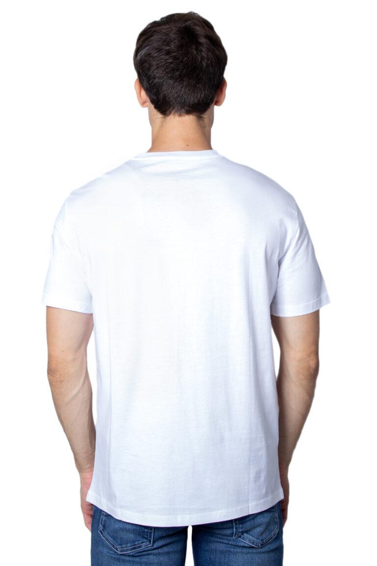 T-shirt Armani Exchange Jersey Bianco - Foto 3