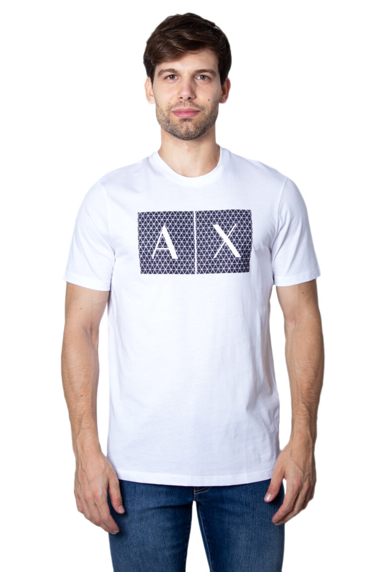 T-shirt Armani Exchange - Bianco - Foto 1