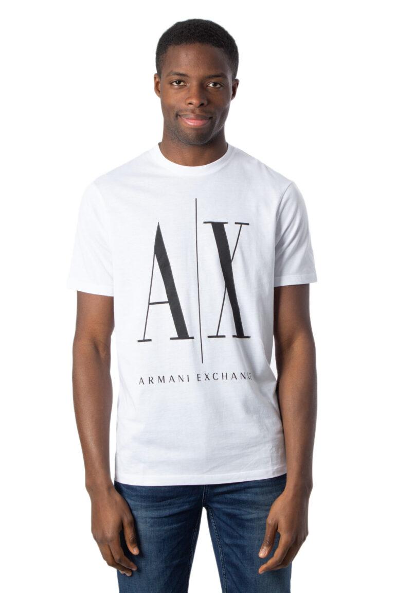 T-shirt Armani Exchange LOGO Bianco - Foto 1