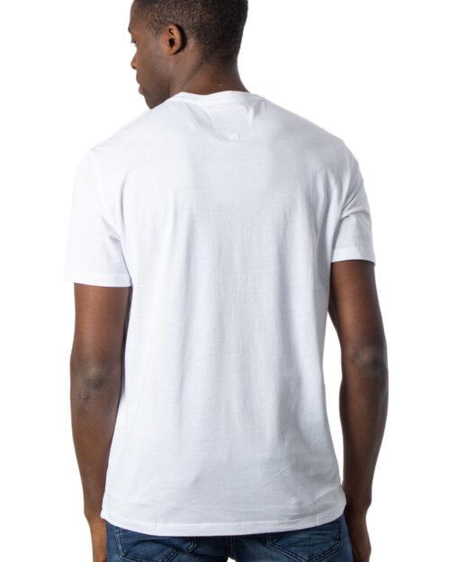 T-shirt Armani Exchange LOGO Bianco - Foto 2