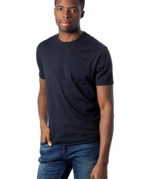 T-shirt Armani Exchange - Blu - Foto 1