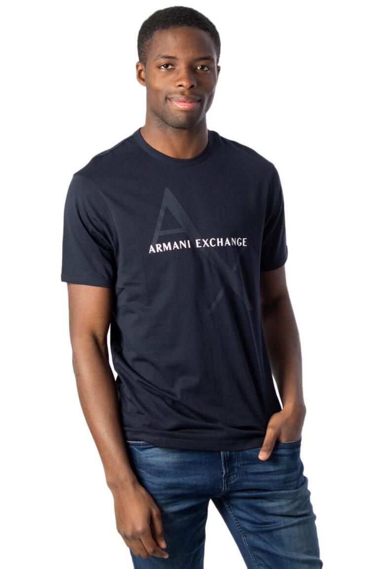 T-shirt Armani Exchange JERSEY Blu - Foto 1