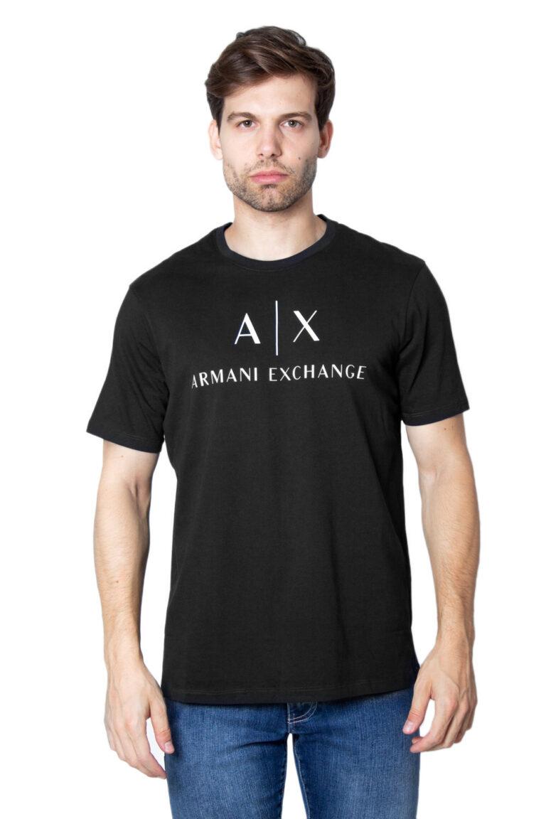 T-shirt Armani Exchange Jersey Nero - Foto 1