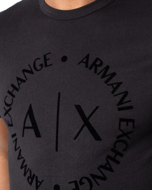T-shirt Armani Exchange - Nero - Foto 4