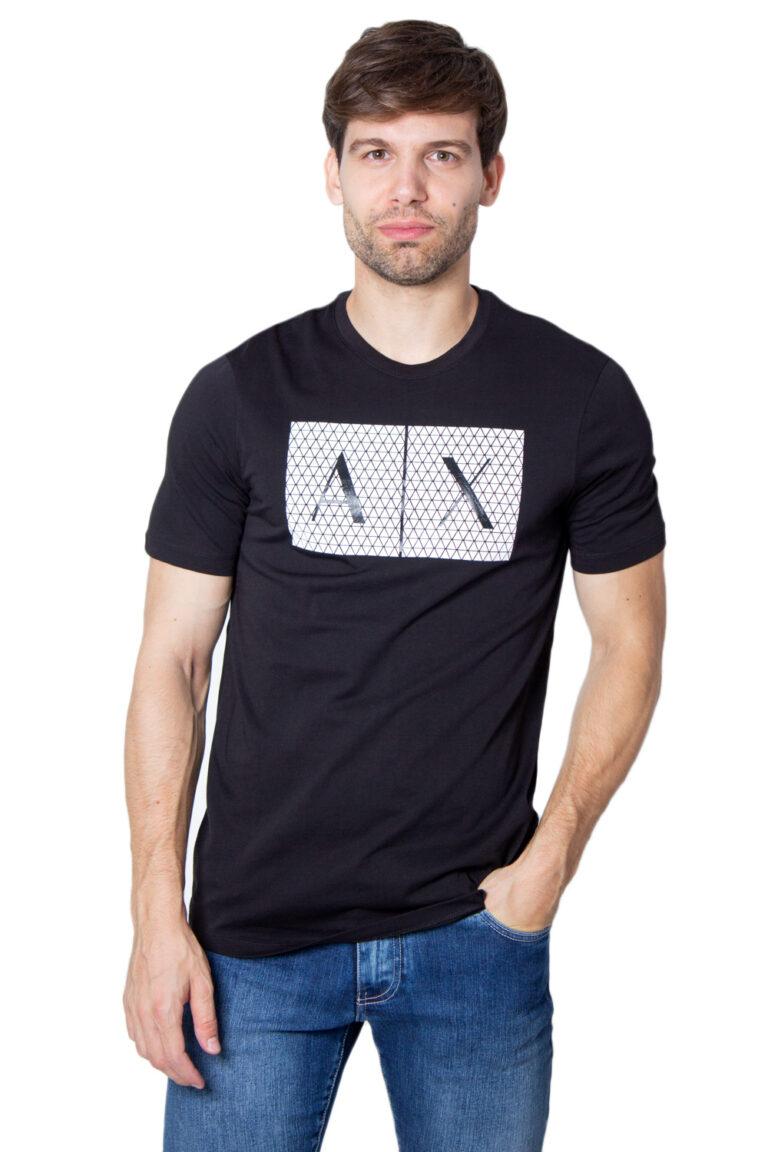 T-shirt Armani Exchange - Nero - Foto 1