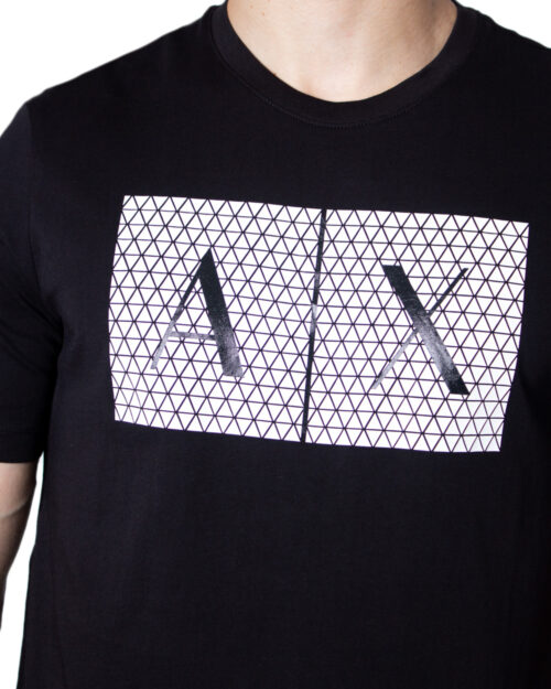 T-shirt Armani Exchange - Nero - Foto 3
