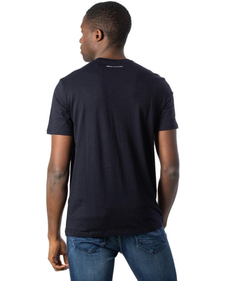 T-shirt Armani Exchange LOGO Nero - Foto 2