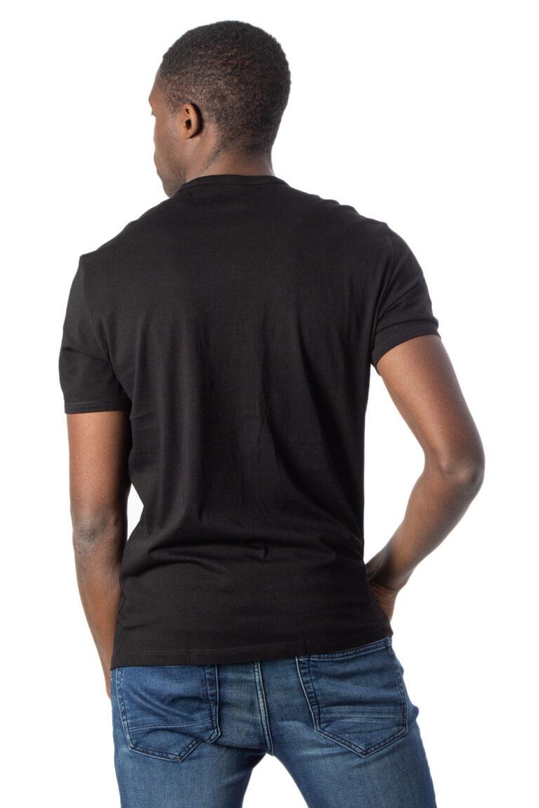 T-shirt Armani Exchange JERSEY Nero - Foto 2