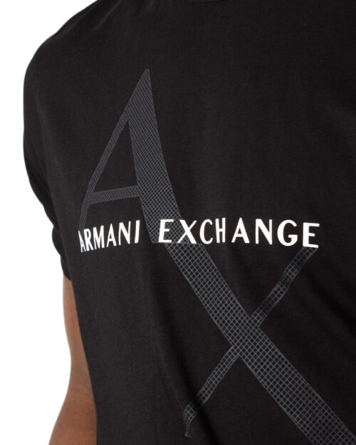 T-shirt Armani Exchange JERSEY Nero - Foto 3