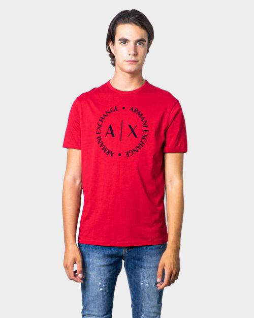 T-shirt Armani Exchange - Rosso - Foto 1