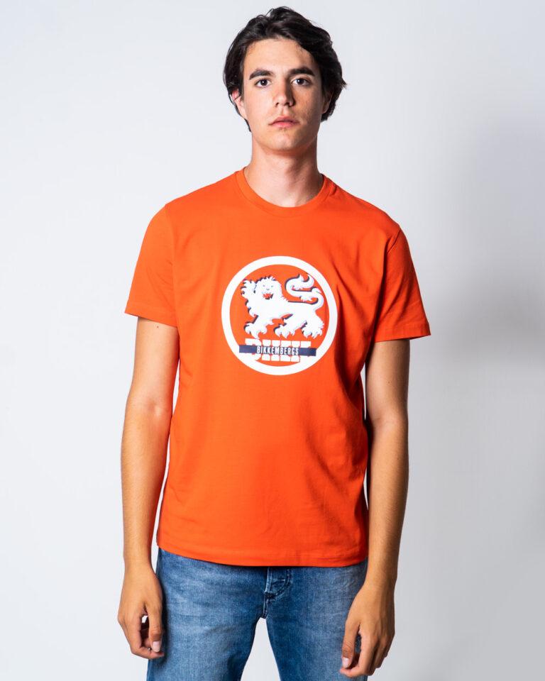 T-shirt BIKKEMBERGS LEONE Arancione - Foto 1