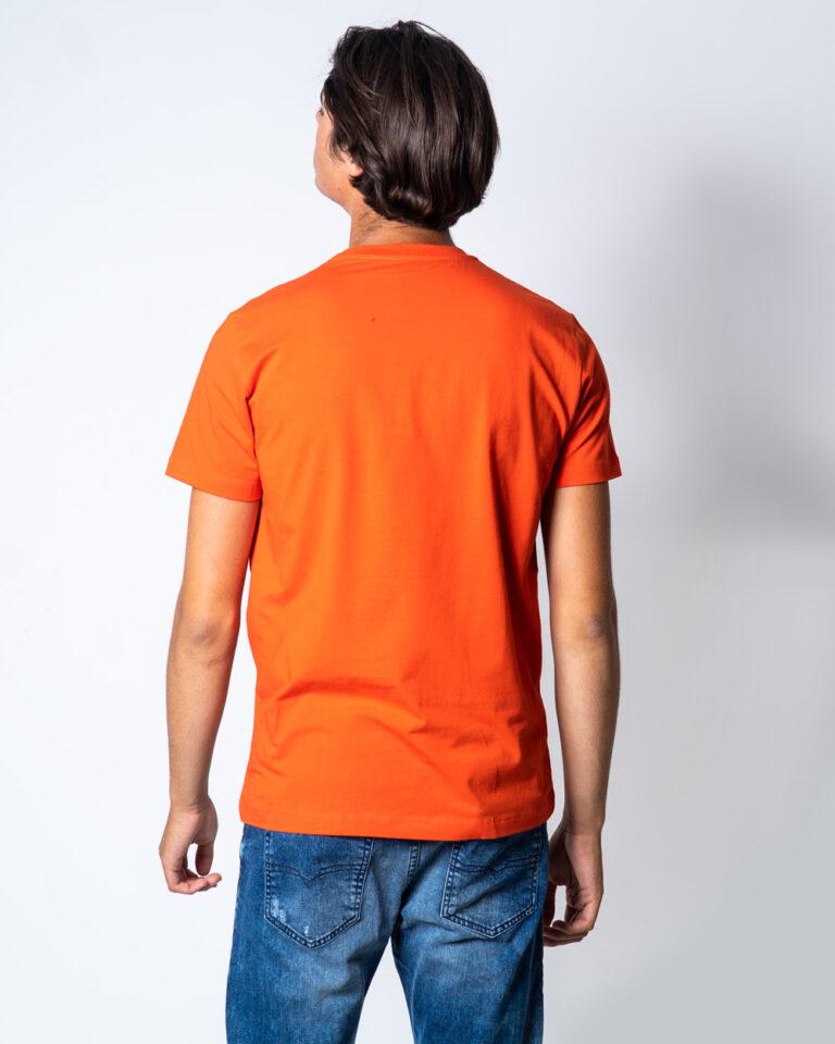 T-shirt BIKKEMBERGS LEONE Arancione - Foto 2