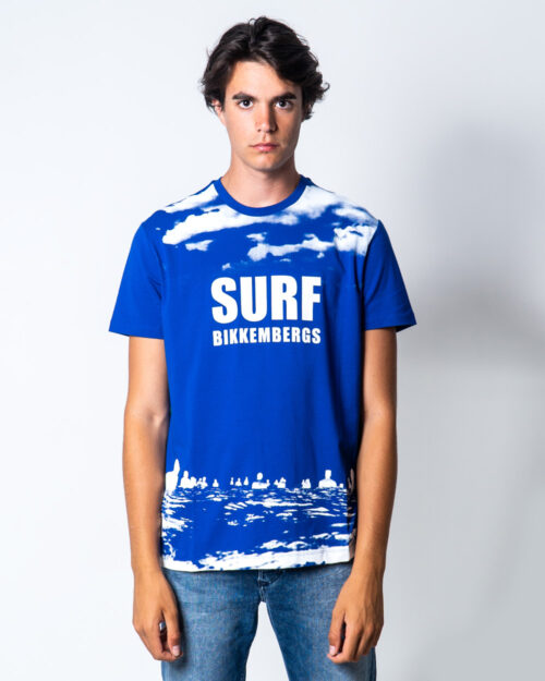 T-shirt Bikkembergs SURF Azzurro – 51666