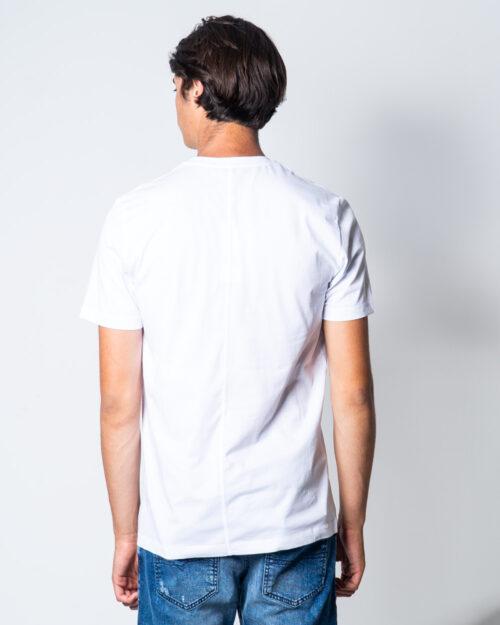 T-shirt Bikkembergs LOGO BKK Bianco – 51669