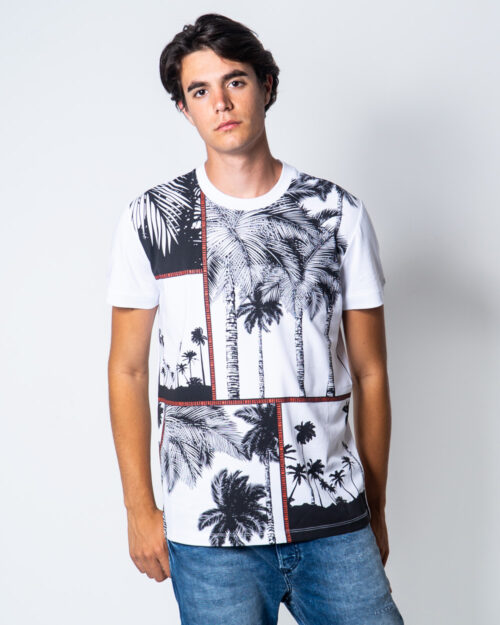 T-shirt Bikkembergs PALME Bianco – 51662