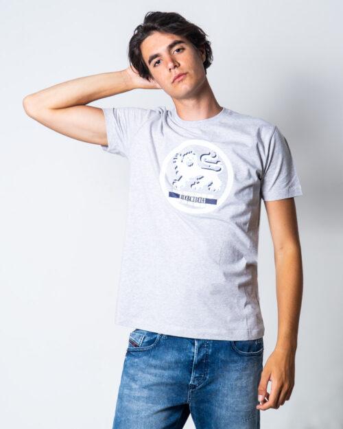 T-shirt BIKKEMBERGS LEONE Grigio Chiaro - Foto 1
