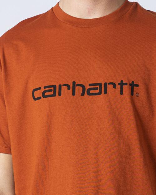 T-shirt Carhartt WIP KOSZULKA SCRIPT Arancione - Foto 2