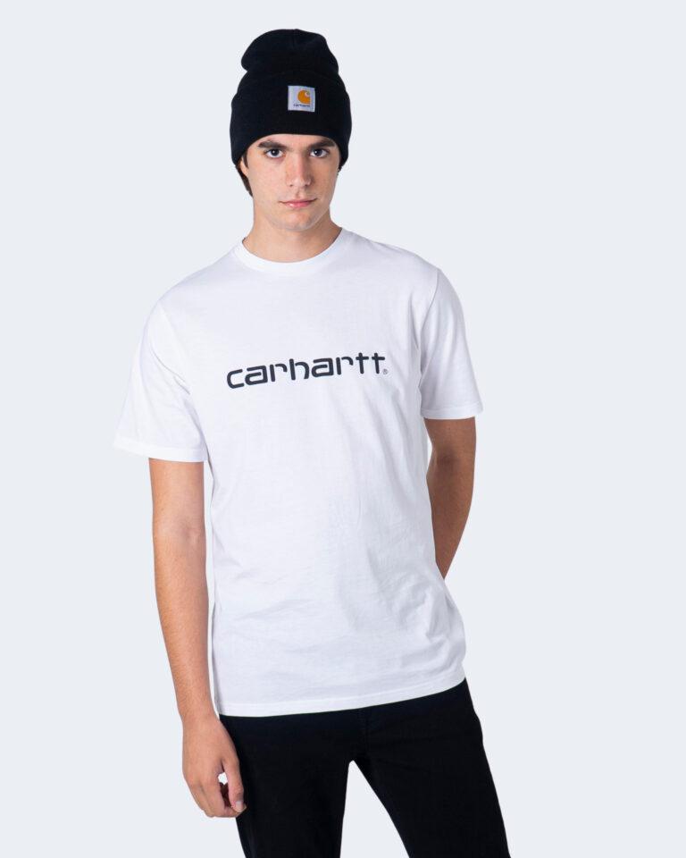T-shirt Carhartt WIP KOSZULKA SCRIPT Bianco - Foto 1