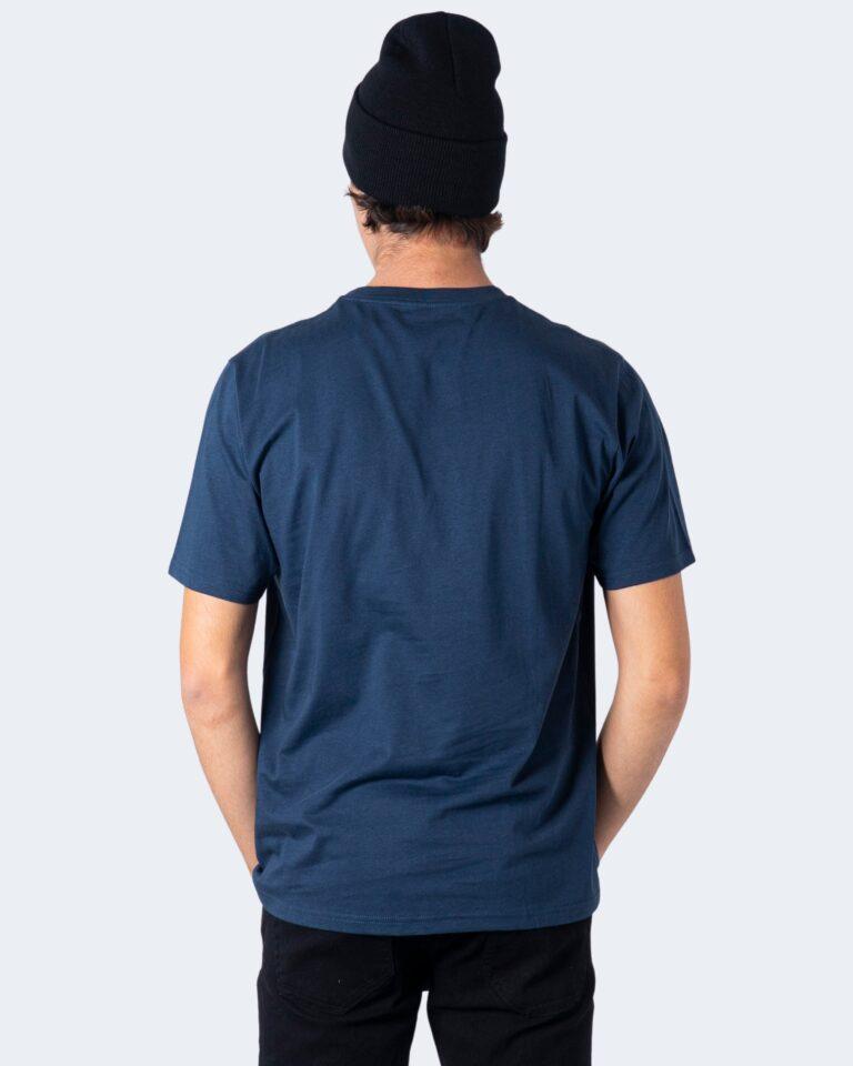 T-shirt Carhartt WIP KOSZULKA SCRIPT Blue scuro - Foto 2