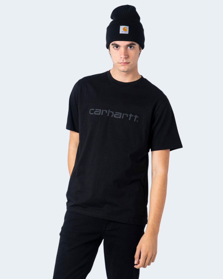T-shirt Carhartt WIP KOSZULKA SCRIPT Nero - Foto 1