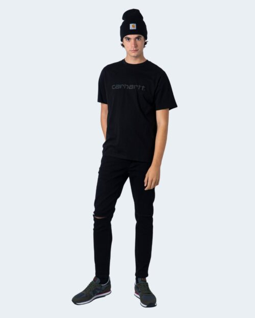 T-shirt Carhartt WIP KOSZULKA SCRIPT Nero - Foto 2
