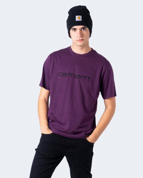T-shirt Carhartt WIP KOSZULKA SCRIPT Vinaccia - Foto 1