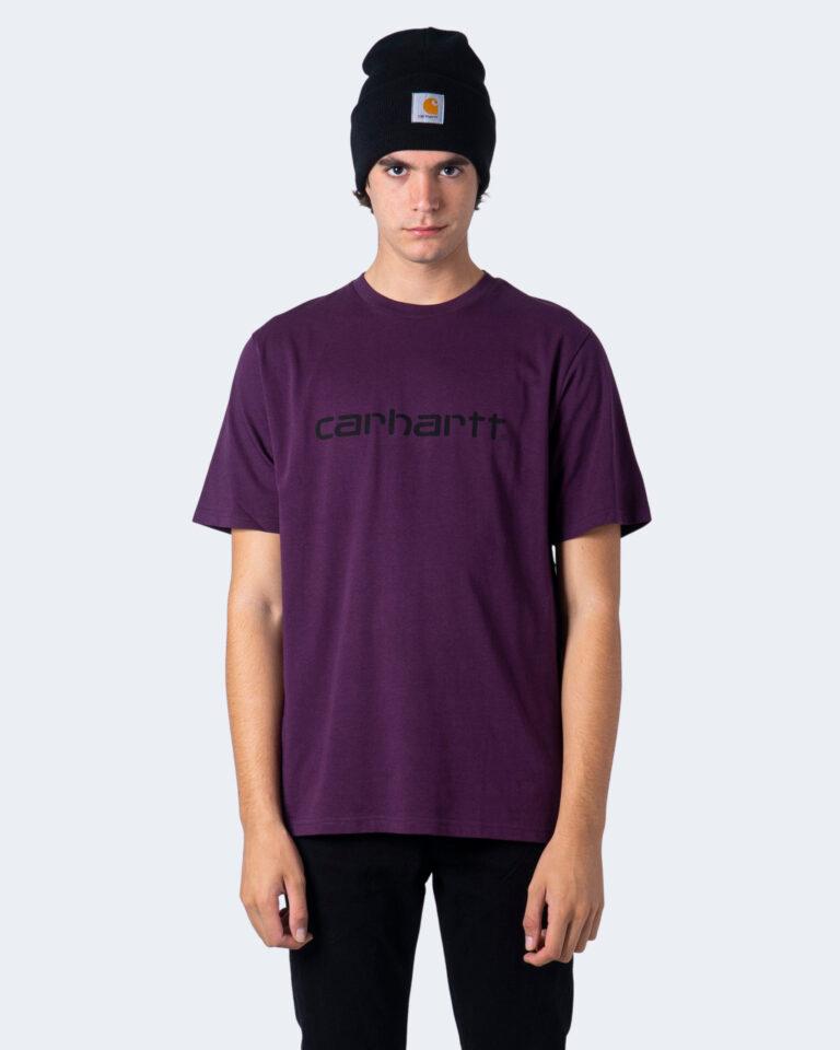 T-shirt Carhartt WIP KOSZULKA SCRIPT Vinaccia - Foto 2