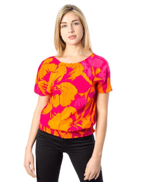 T-shirt Desigual BLUS MAHON Arancione – 40112