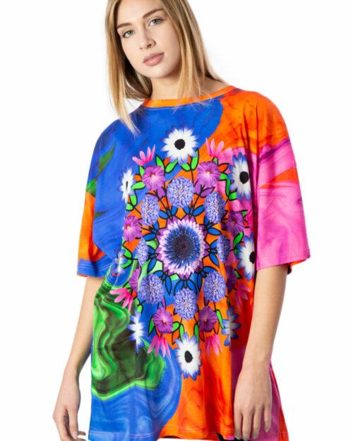 T-shirt Desigual Ts Luca Arancione – 39837