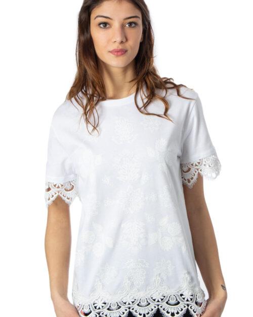 T-shirt Desigual Ts Gante Bianco - Foto 1