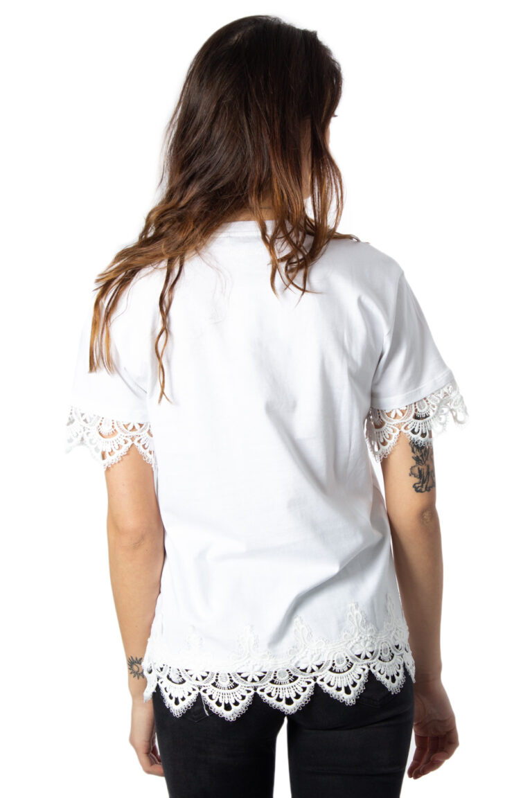 T-shirt Desigual Ts Gante Bianco - Foto 2
